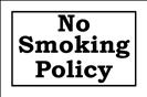 No Smoking Policy